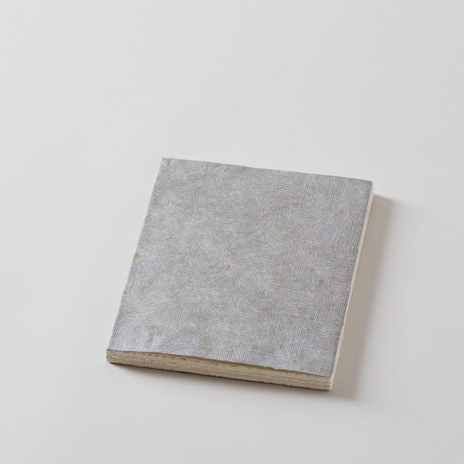 Elam Lias 3 Silver Trassage Handmade Paper Journal