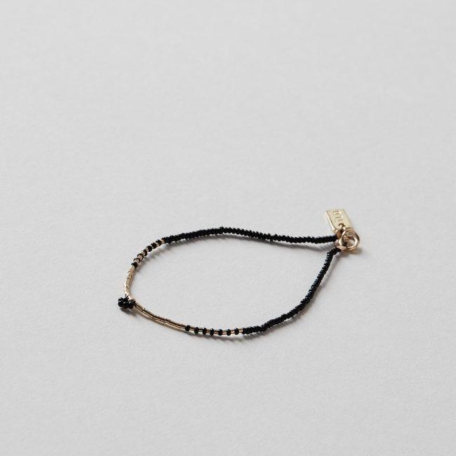 ILD Crow Flower Bracelet with Glass Beads