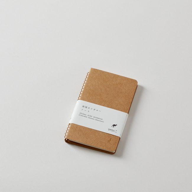 Midori Spiral Ring Kangaroo Notebook 16 Sheets