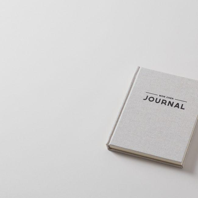 Mon Cher Journal Linen Diary 100 Pages