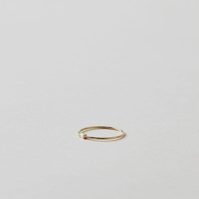 Sweet Pea Diamond Baguette Ring