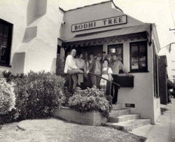 Photo of the Bodhi Tree Bookstore in 1970