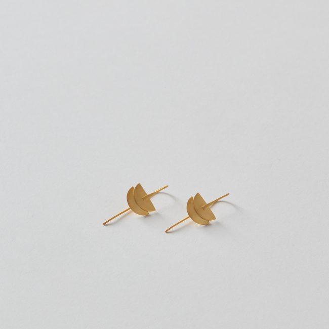 Bluma Project Crescent Earrings
