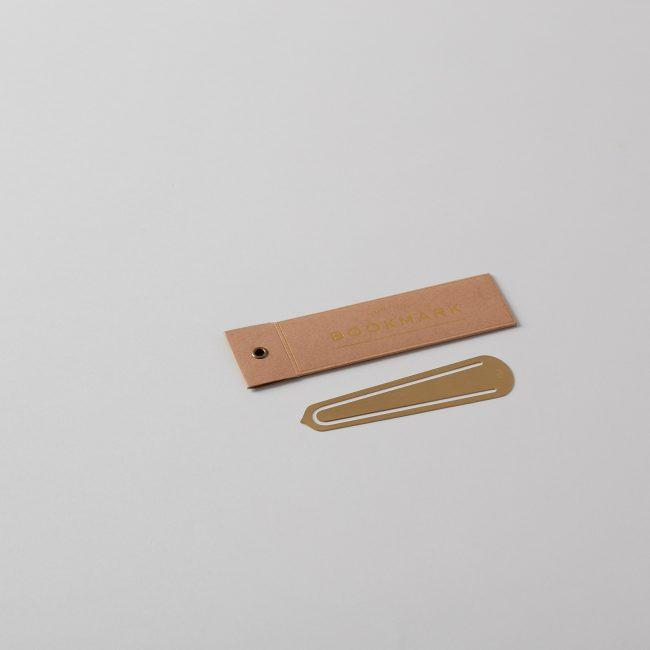 Brass Bookmark