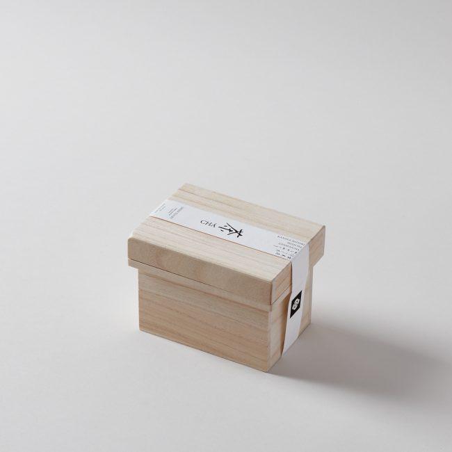 Cha 100% Organic Green Tea Box Gift Set