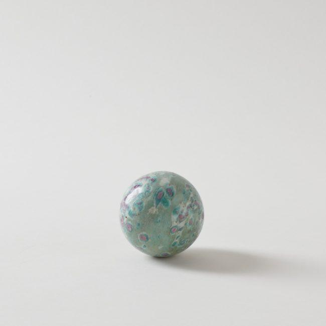 Ruby Fuchsite Sphere Crystal