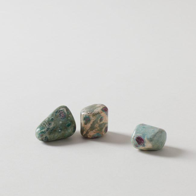 Ruby Fuchsite Tumbled Stone Crystal