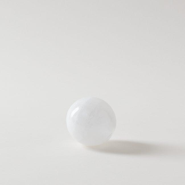 Selenite Sphere Crystal