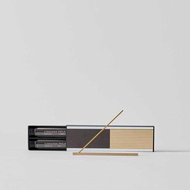 Series 01 Linea Burner + Solo Incense Set