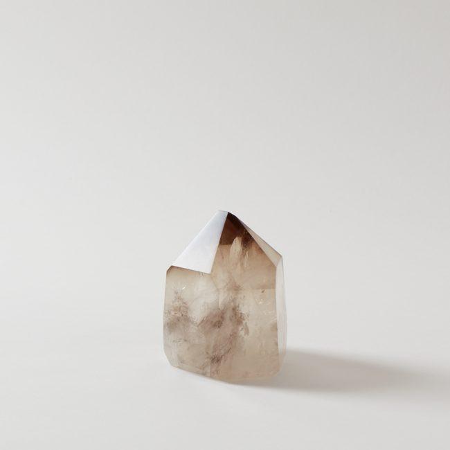Smokey Citrine Point Crystal