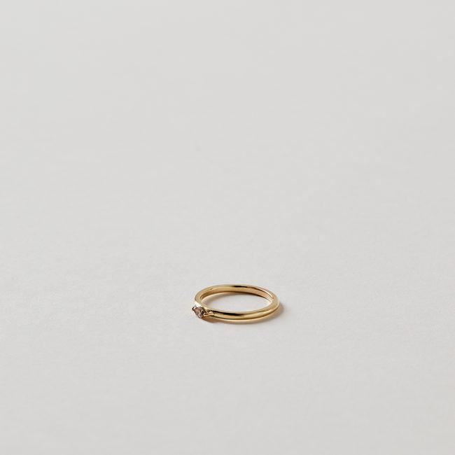 Tura Sugden Pink Diamond Marquis Ring