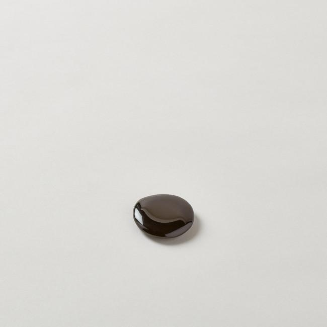 Black Obsidian Flat Stone