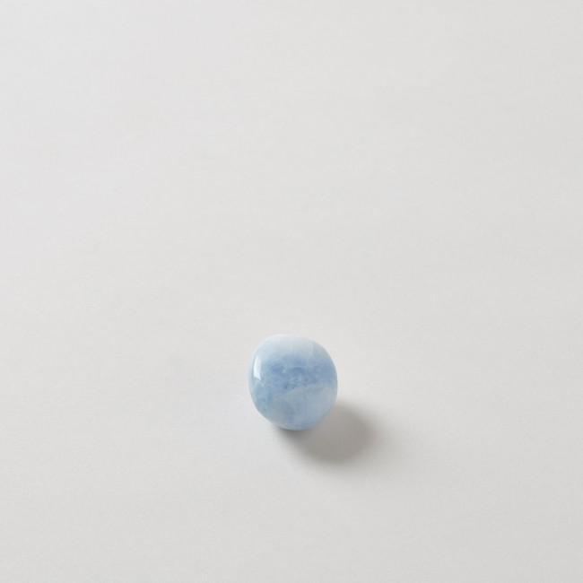 Blue Calcite Tumbled Stone