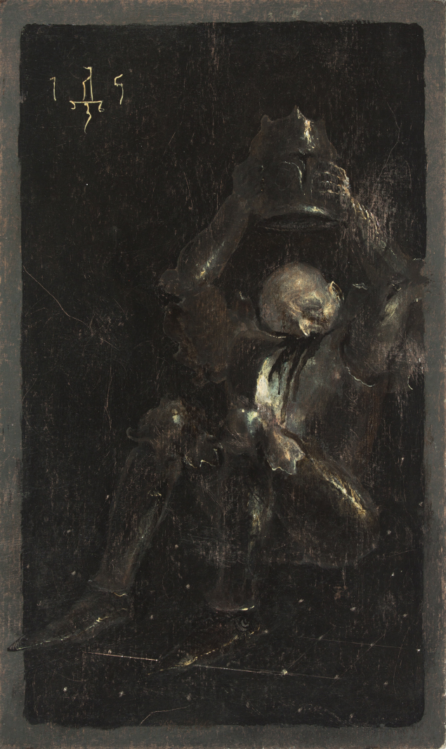 painting of Between Two Worlds by Denis Forkas