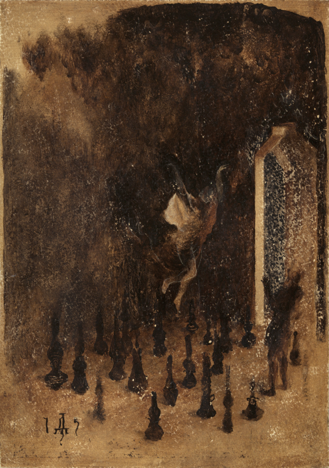 painting of Dream of the chamber of vessels by Denis Forkas