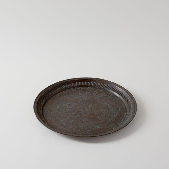 19th Century Antique Indian Copper Tray