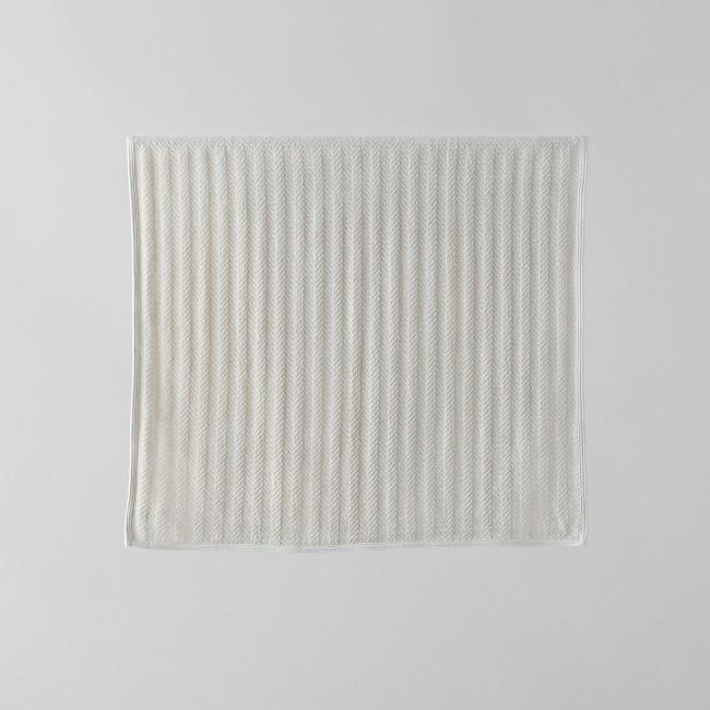 Fog Linen Herringbone Cotton Towel