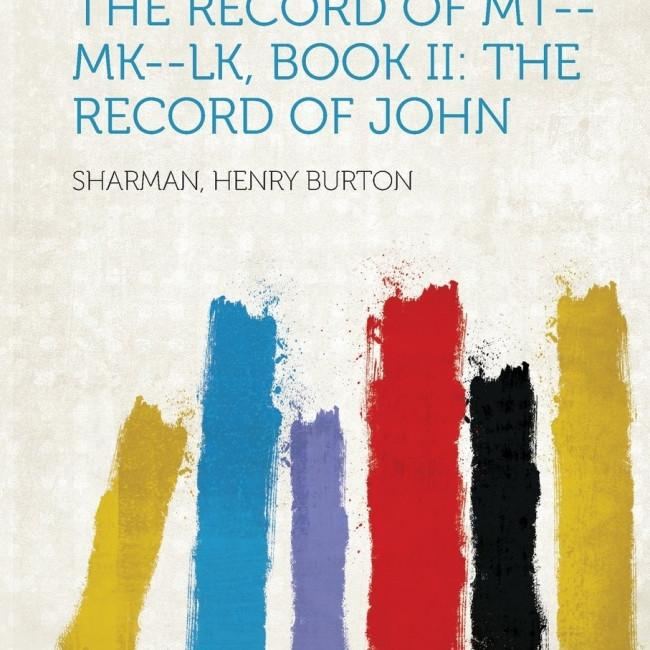 Records of the Life of Jesus/Book I