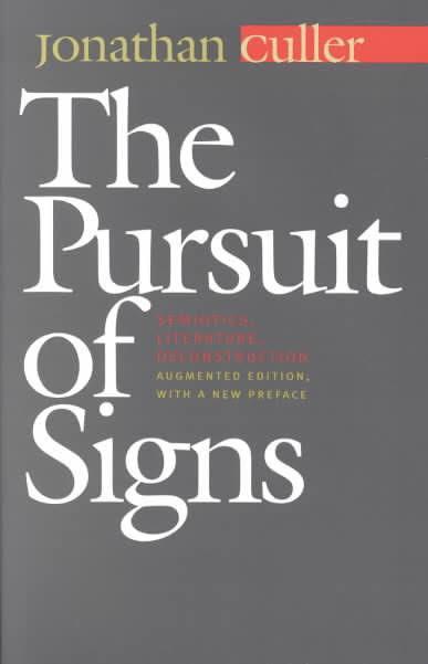 Pursuit of Signs