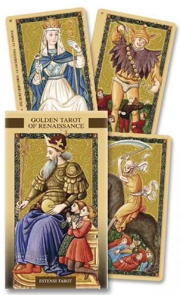 Golden Tarot of The Renaissance/Tarot Dorado Del Renacimiento : Tarot De Estensi/Estensi Tarot