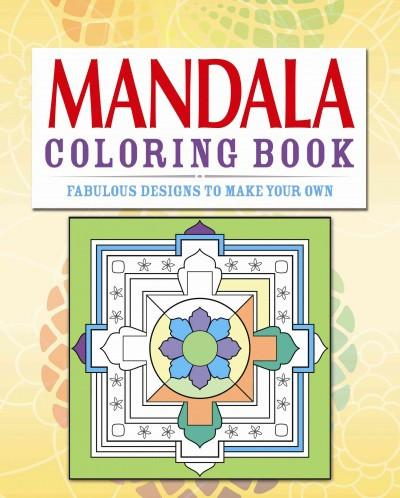 Mandalas Adult Coloring Book