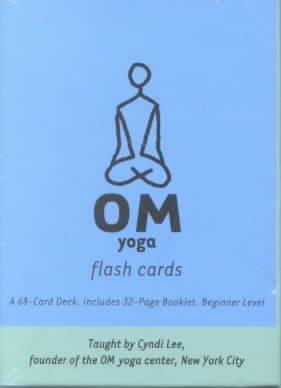 Om Yoga Flash Cards
