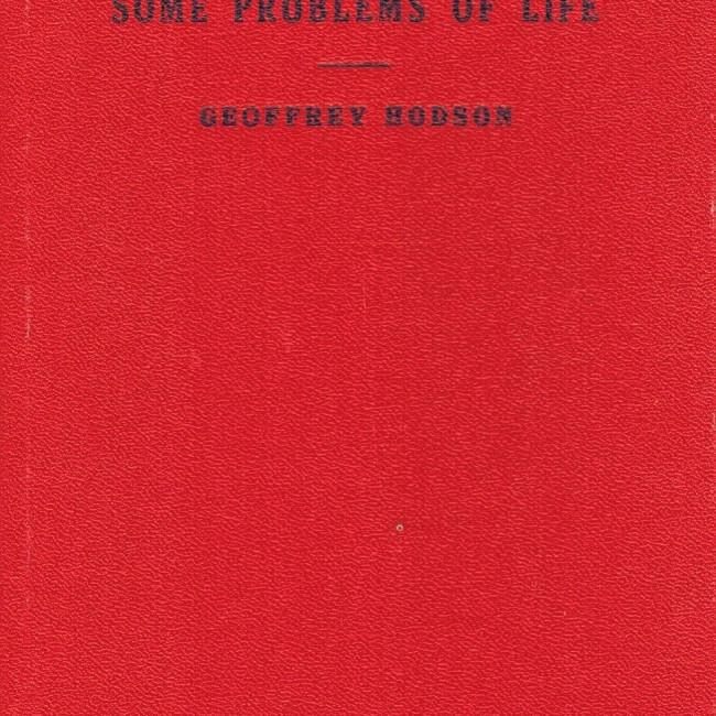 Theosophy Answers Some Problems of Life 1953