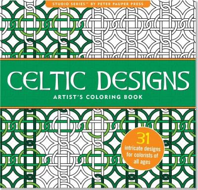 Celtic Designs Artist's Adult Coloring Book