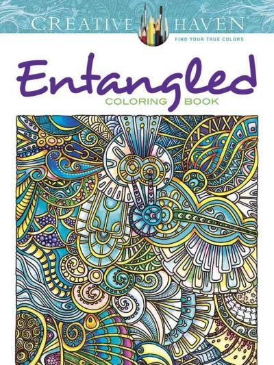 Entangled Adult Coloring Book