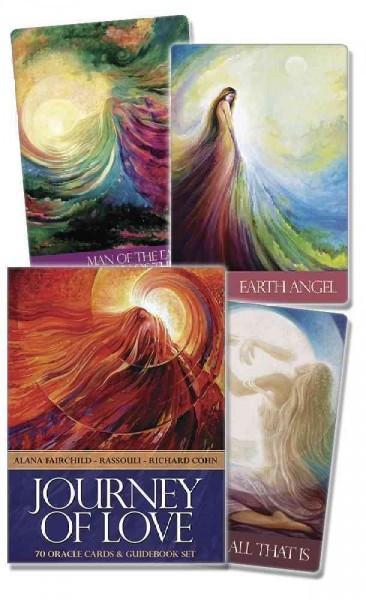 Journey of Love : Oracle Cards & Guidebook Set