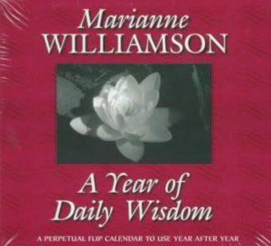 Year of Daily Wisdom Perpetual Flip Calendar