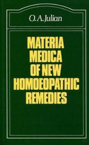 Materia Medica of New Homoeopathic Remedies