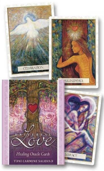 Universal Love Healing Oracle : 12th Anniversary Edition