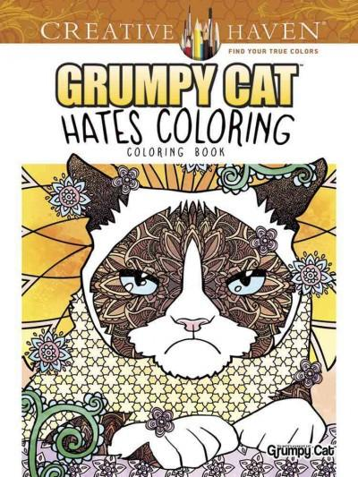Grumpy Cat Hates Coloring Coloring Book