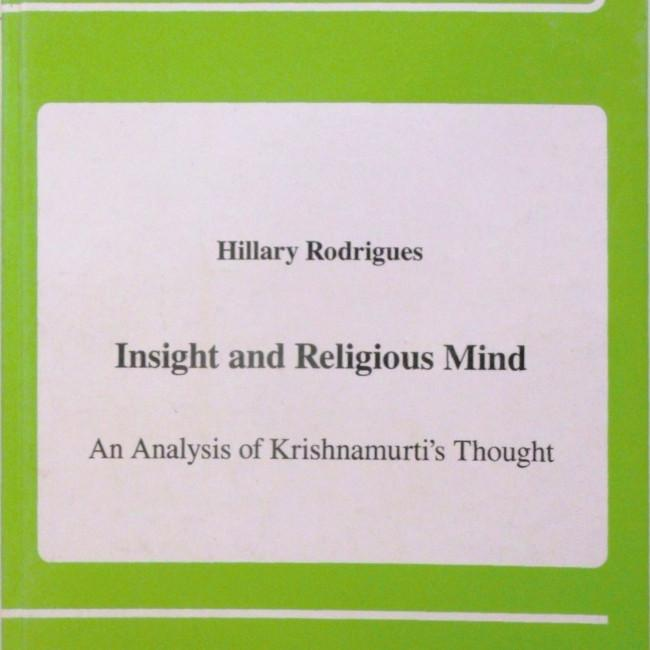 Insight and Religious Mind