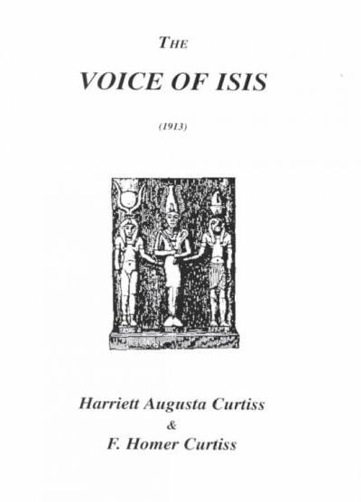 Voice of Isis - 1913
