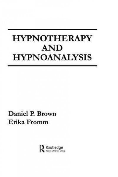 Hypnotherapy and Hypnoanalysis