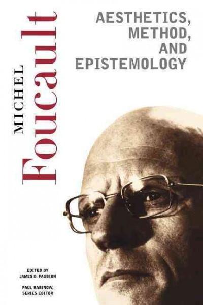 Aesthetics, Method, And Epistemology
