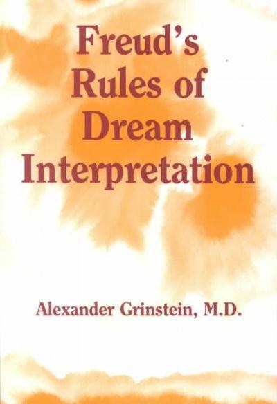 Freud's Rules of Dream Interpretation