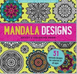 Mandala Designs Artist's Adult Coloring Book