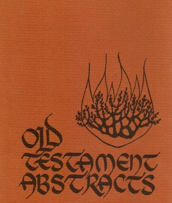 Old Testament Abstracts, No 2