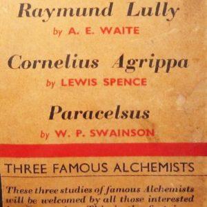 Three Famous Alchemists