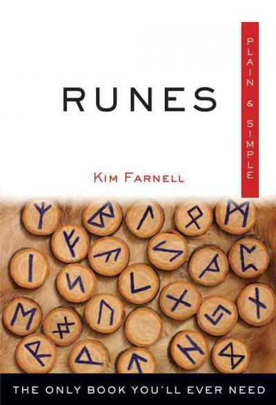 Runes Plain & Simple : The Only Book You'll Ever Need