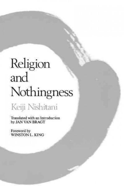 Religion and Nothingness