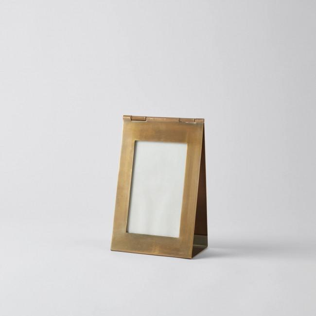 Triangolo Antiqued Brass Frame