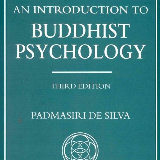 Introduction to Buddhist Psychology