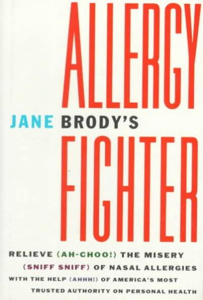 Jane Brody's Allergy Fighter