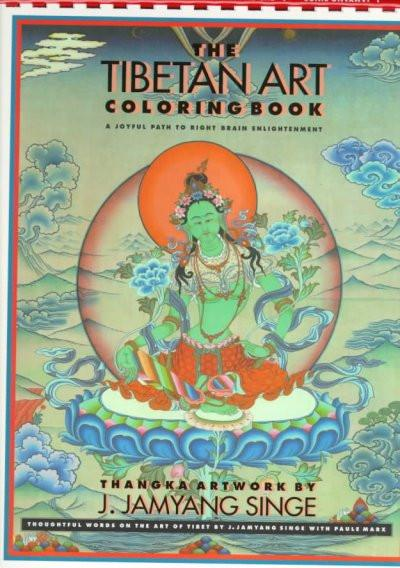 Tibetan Art Adult Coloring Book