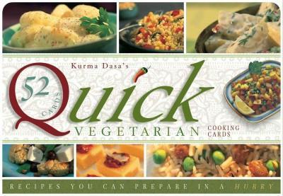 Quick Vegatarian Recipe Cards : Recipes You Can Prepare in a Hurry
