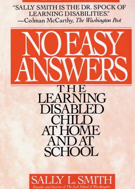 No Easy Answers the Learning Disabled Child